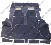 TVR S2 2998cc 1986 to 1990 Carpet Set - Wessex Wool Range